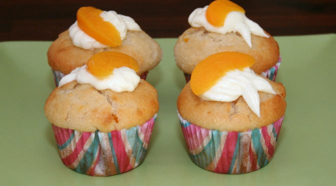Apple and Peach Muffins